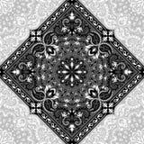 Τυπωμένη ύλη του Paisley Bandana Στοκ Εικόνες