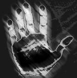 τυπωμένη ύλη χεριών Στοκ φωτογραφίες με δικαίωμα ελεύθερης χρήσης
