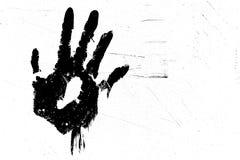 τυπωμένη ύλη χεριών στοκ φωτογραφία με δικαίωμα ελεύθερης χρήσης