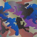 Τυπωμένη ύλη ιματισμού υποβάθρου σχεδίων κάλυψης, επαναλαμβανόμενο camo gl Στοκ Φωτογραφίες