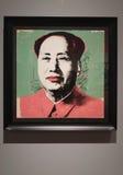 Τυπωμένη ύλη του Andy Warhol Mao Zedong Στοκ Φωτογραφίες