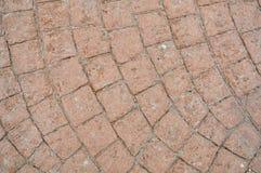 Τυπωμένο τσιμεντένιο πάτωμα Στοκ φωτογραφίες με δικαίωμα ελεύθερης χρήσης