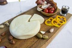 Τυρί αιγών Στοκ Φωτογραφία