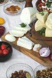 Τυρί αιγών Στοκ Φωτογραφίες