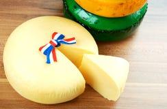 Τυρί από την Ολλανδία Κάτω Χώρες Στοκ Εικόνες