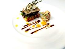 Τυρί γύρου Λα με τα chantarelles Στοκ Εικόνα