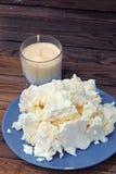 Τυρί εξοχικών σπιτιών και ξινή κρέμα στοκ εικόνες με δικαίωμα ελεύθερης χρήσης