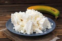 Τυρί εξοχικών σπιτιών και ξινή κρέμα στοκ φωτογραφία με δικαίωμα ελεύθερης χρήσης