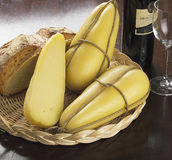 τυρί ιταλικά Στοκ φωτογραφία με δικαίωμα ελεύθερης χρήσης