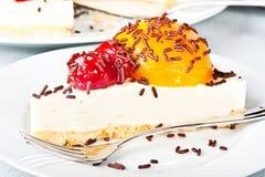 τυρί κέικ Στοκ εικόνες με δικαίωμα ελεύθερης χρήσης