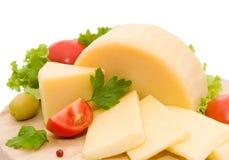 τυρί κίτρινο Στοκ εικόνα με δικαίωμα ελεύθερης χρήσης