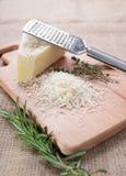 Τυρί και δεντρολίβανο παρμεζάνας Στοκ εικόνες με δικαίωμα ελεύθερης χρήσης