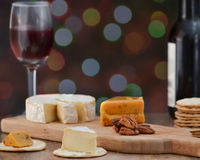 Τυρί και κρασί για ένα Στοκ φωτογραφίες με δικαίωμα ελεύθερης χρήσης
