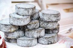 Τυρί και κρασί, χαρακτηριστικά προϊόντα Piedmonte, Ιταλία Στοκ Εικόνες