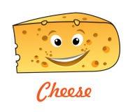Τυρί κινούμενων σχεδίων Στοκ εικόνα με δικαίωμα ελεύθερης χρήσης