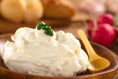 Τυρί κρέμας Στοκ εικόνα με δικαίωμα ελεύθερης χρήσης