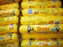 τυρί κρέμας tatura στοκ εικόνες
