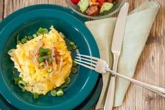 Τυρί μακαρονιών ή spatzle νουντλς αυγών Στοκ Εικόνα