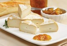 Τυρί με τη μαρμελάδα μάγκο Στοκ φωτογραφίες με δικαίωμα ελεύθερης χρήσης
