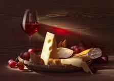 Τυρί με το ψωμί Στοκ φωτογραφίες με δικαίωμα ελεύθερης χρήσης