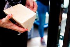 Τυρί μοτσαρελών Στοκ Εικόνα