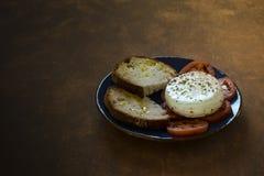 Τυρί, ντομάτες και Oregano Στοκ εικόνες με δικαίωμα ελεύθερης χρήσης