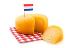 τυρί ολλανδικά Στοκ φωτογραφία με δικαίωμα ελεύθερης χρήσης