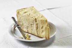 Τυρί παρμεζάνας Στοκ φωτογραφία με δικαίωμα ελεύθερης χρήσης