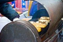 τυρί που καπνίζεται Στοκ Εικόνες