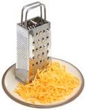 τυρί που ξύνεται Στοκ εικόνα με δικαίωμα ελεύθερης χρήσης