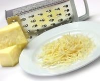 τυρί που ξύνεται Στοκ Φωτογραφίες
