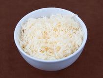 τυρί που τεμαχίζεται στοκ φωτογραφία