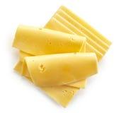 τυρί που τεμαχίζεται Στοκ εικόνες με δικαίωμα ελεύθερης χρήσης