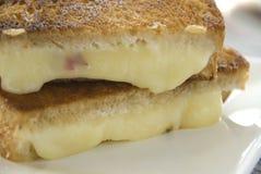 τυρί που ψήνεται στη σχάρα Στοκ φωτογραφία με δικαίωμα ελεύθερης χρήσης