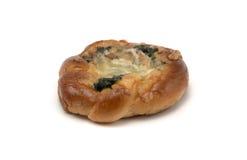 Τυρί σπανακιού Στοκ Φωτογραφίες