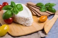 Τυρί στάρπης ανθρακόπλινθων στοκ φωτογραφία