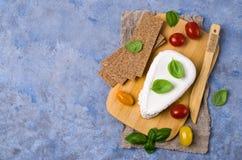 Τυρί στάρπης ανθρακόπλινθων στοκ εικόνες