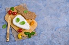 Τυρί στάρπης ανθρακόπλινθων στοκ φωτογραφίες με δικαίωμα ελεύθερης χρήσης