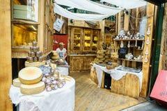Τυρί στην αγορά δήμων Στοκ φωτογραφία με δικαίωμα ελεύθερης χρήσης