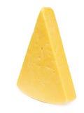 Τυρί στο λευκό Στοκ Εικόνες