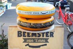 Τυρί στο κατάστημα τυριών Στοκ φωτογραφίες με δικαίωμα ελεύθερης χρήσης