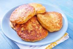 Τυρί τηγανιτών στοκ φωτογραφία