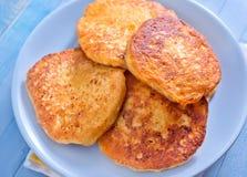 Τυρί τηγανιτών στοκ εικόνες
