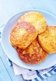 Τυρί τηγανιτών στοκ φωτογραφίες με δικαίωμα ελεύθερης χρήσης