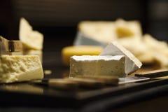 Τυρί της Brie Στοκ Φωτογραφίες