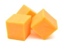 Τυρί τυριού Cheddar Στοκ Φωτογραφίες