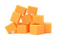 Τυρί τυριού Cheddar στοκ εικόνες