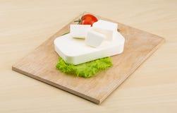 Τυρί φέτας Στοκ Εικόνα