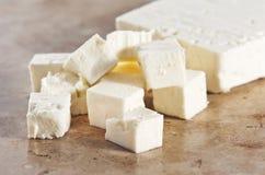 τυρί φέτα Στοκ Εικόνες