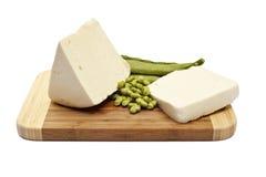 τυρί φασολιών Στοκ φωτογραφία με δικαίωμα ελεύθερης χρήσης